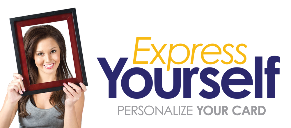 Express Yourself Debit Cards
