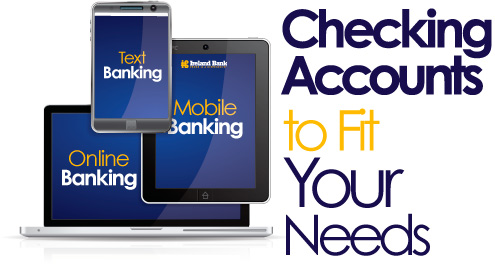 Compare our checking accounts