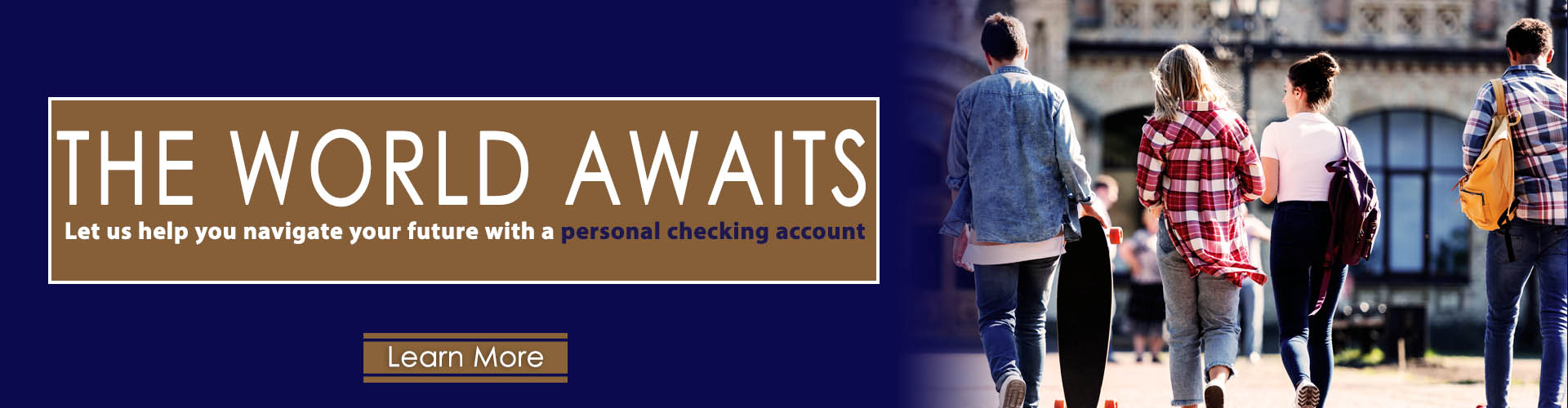 Personal Checking Account Link